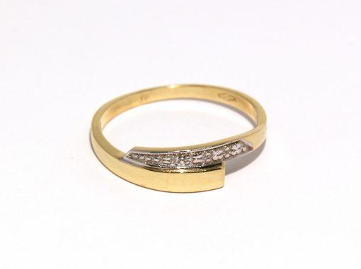 arany női gyűrű cirkón köves