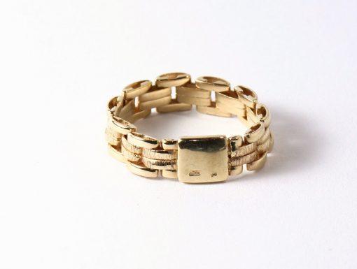 arany női gyűrű lánc