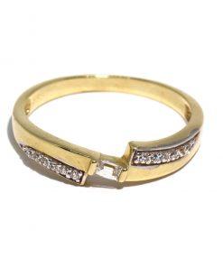 arany női gyűrű köves