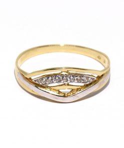 arany női gyűrű cirkón kövekkel
