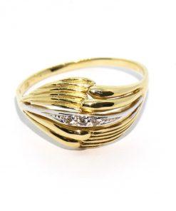 vastag arany női gyűrű