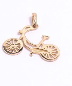 arany bicikli kerékpár medál