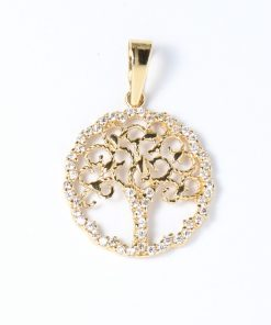 arany fa életfa medál nyakláncokhoz
