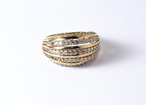 arany gyűrű cirkón köves