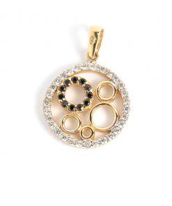arany kör alakú medál