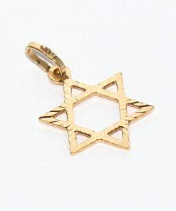 arany Dávid csillag medál