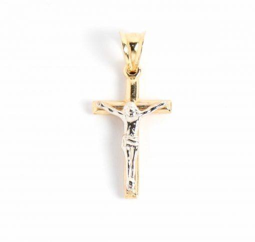 arany kereszt medál keresztény vallásos